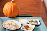 Spiced Pumpkin Overnight Oats: https://1233photography.com/2013/11/27/spiced-pumpkin-overnight-oats/